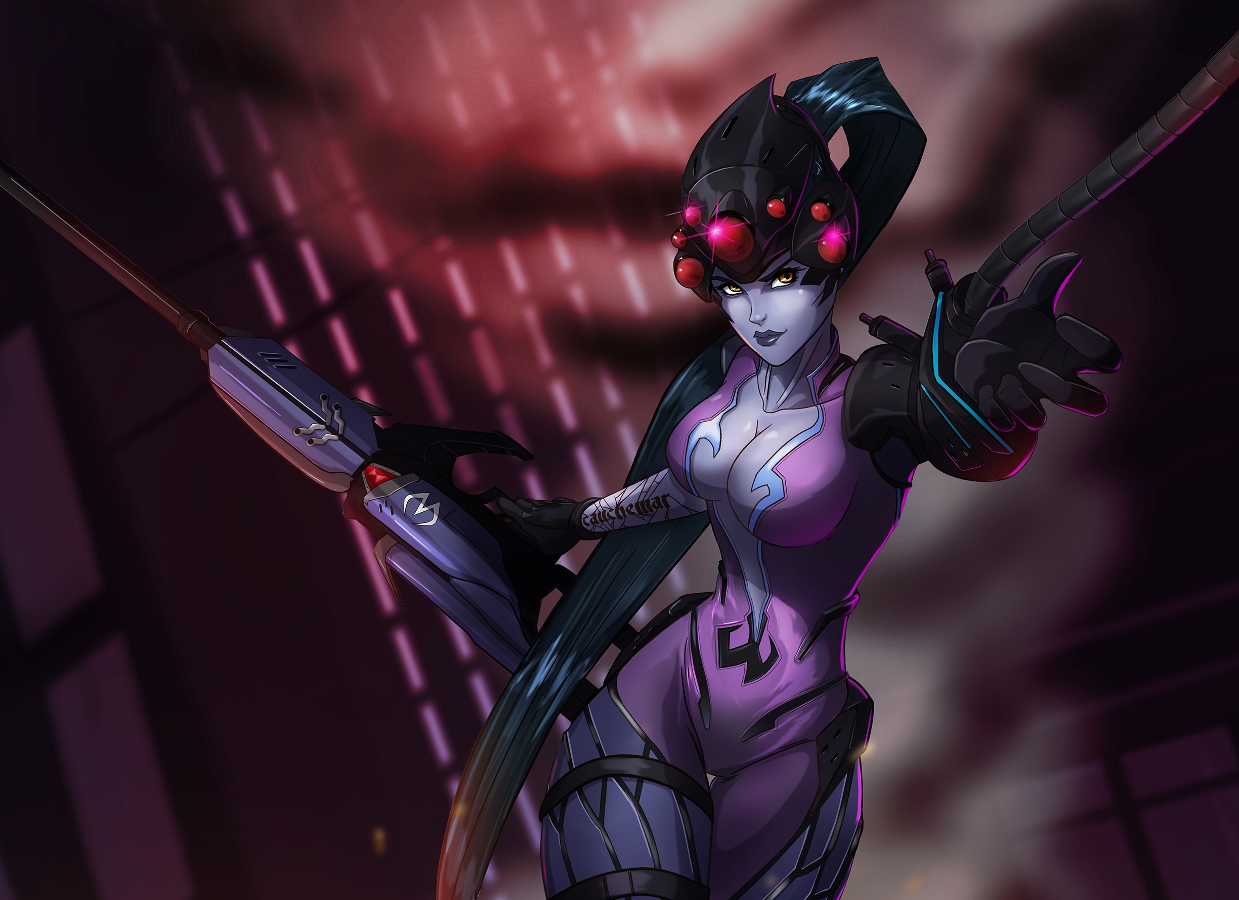 widowmaker overwatch wallpaper 1920x1080 - photo #40