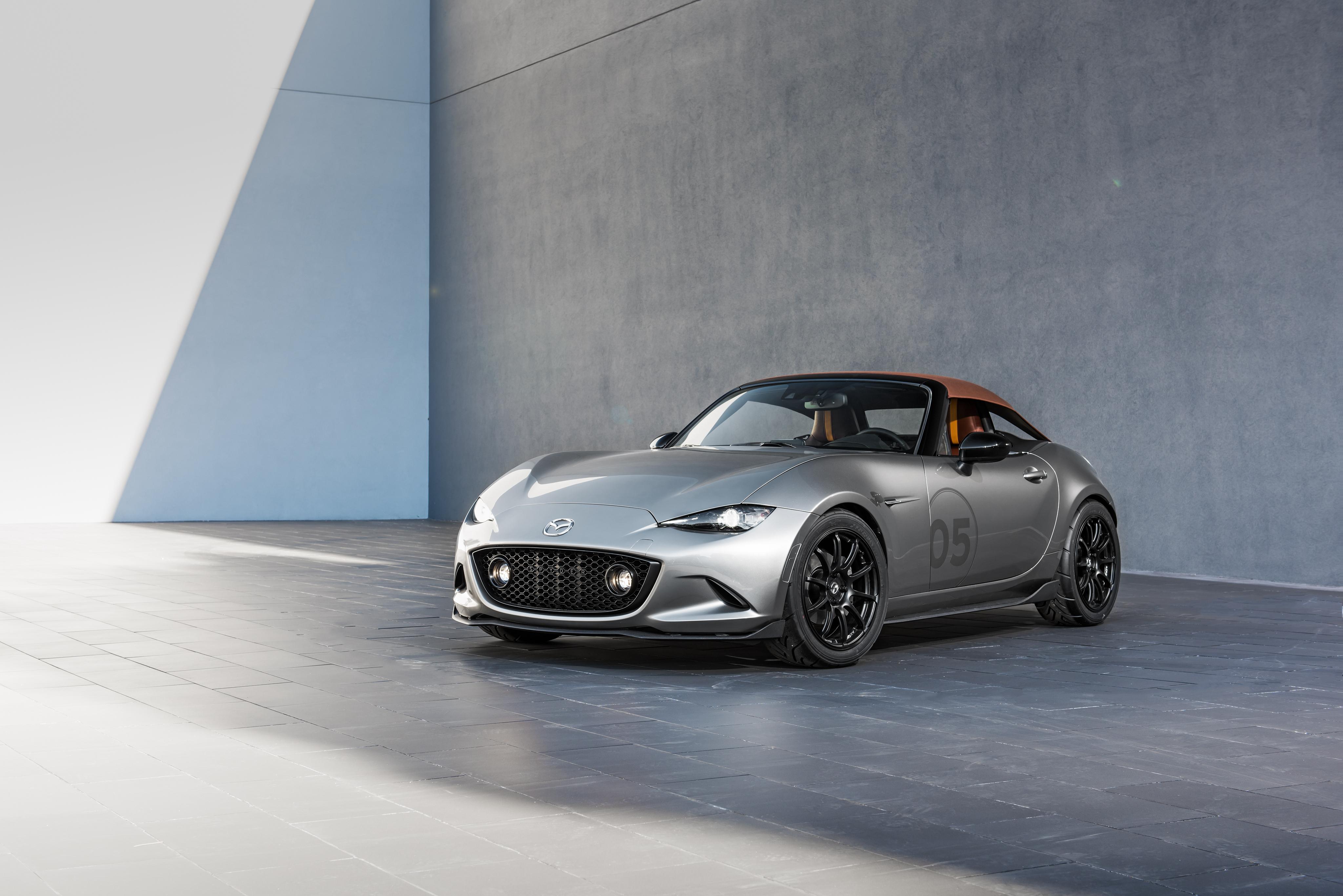 Mazda Mx 5 Miata Spyder Concept 4k Ultra Fondo De Pantalla