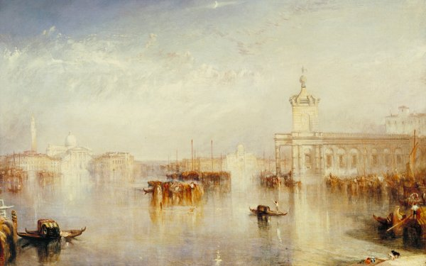 Artistic Painting Venice Italy Gondola HD Wallpaper | Background Image