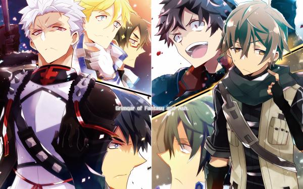 Anime Grimgar of Fantasy and Ash Manato Ranta Haruhiro HD Wallpaper | Background Image