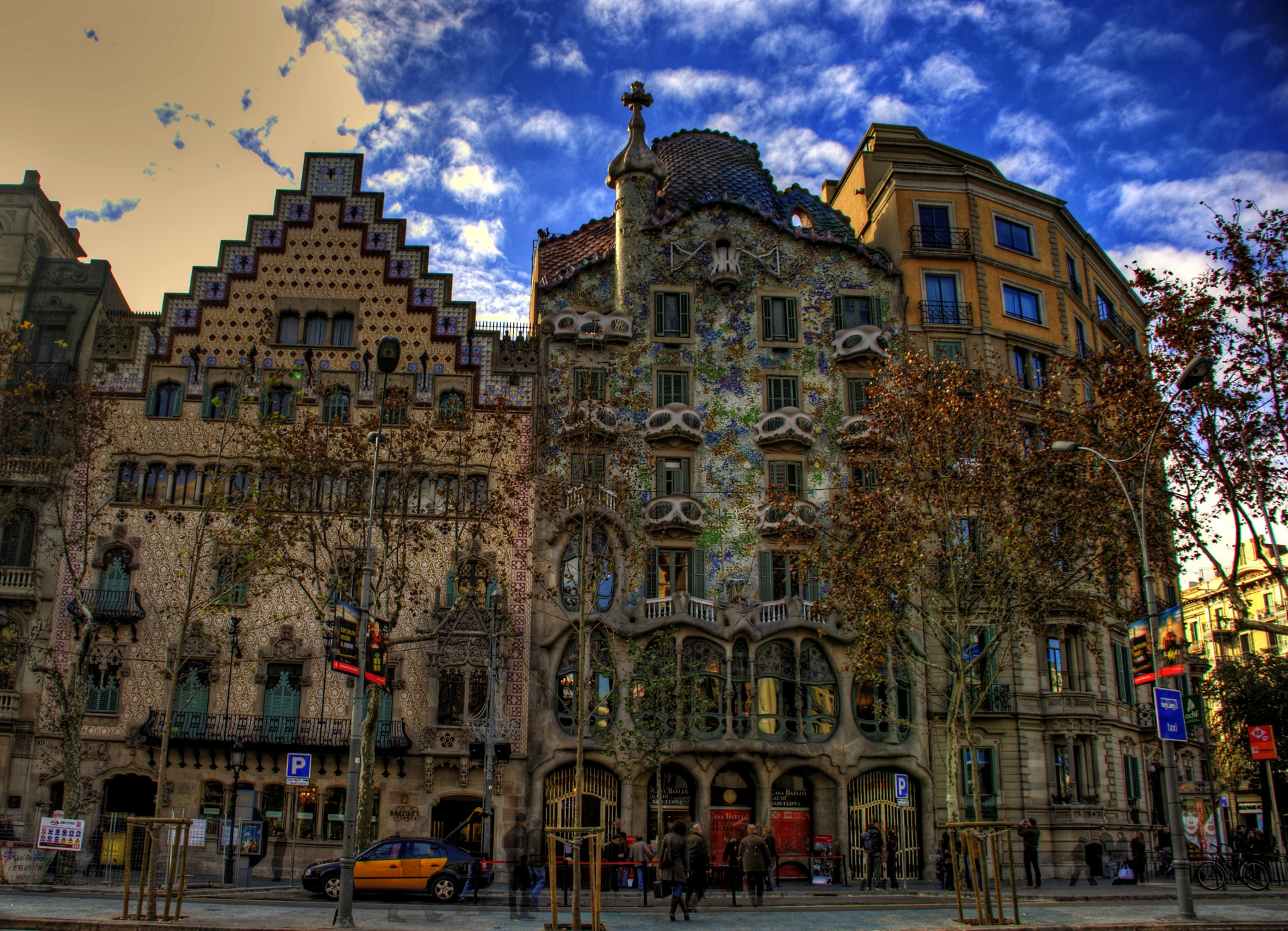 City Of Barcelona Spain Full HD Wallpaper And Background Image