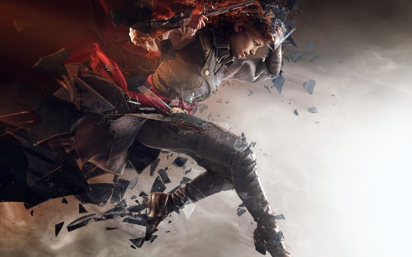 Video Game Assassin's Creed: Unity Assassin's Creed Élise de la Serre HD Wallpaper   Background Image