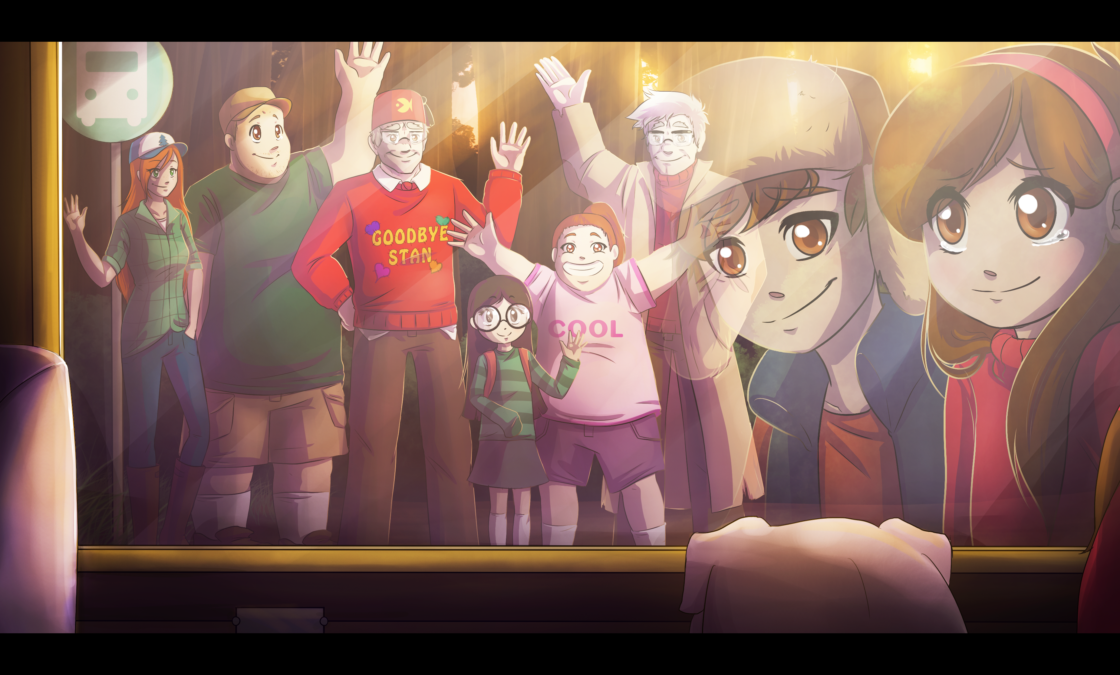 Goodbye Gravity Falls Full HD Wallpaper And Background Image