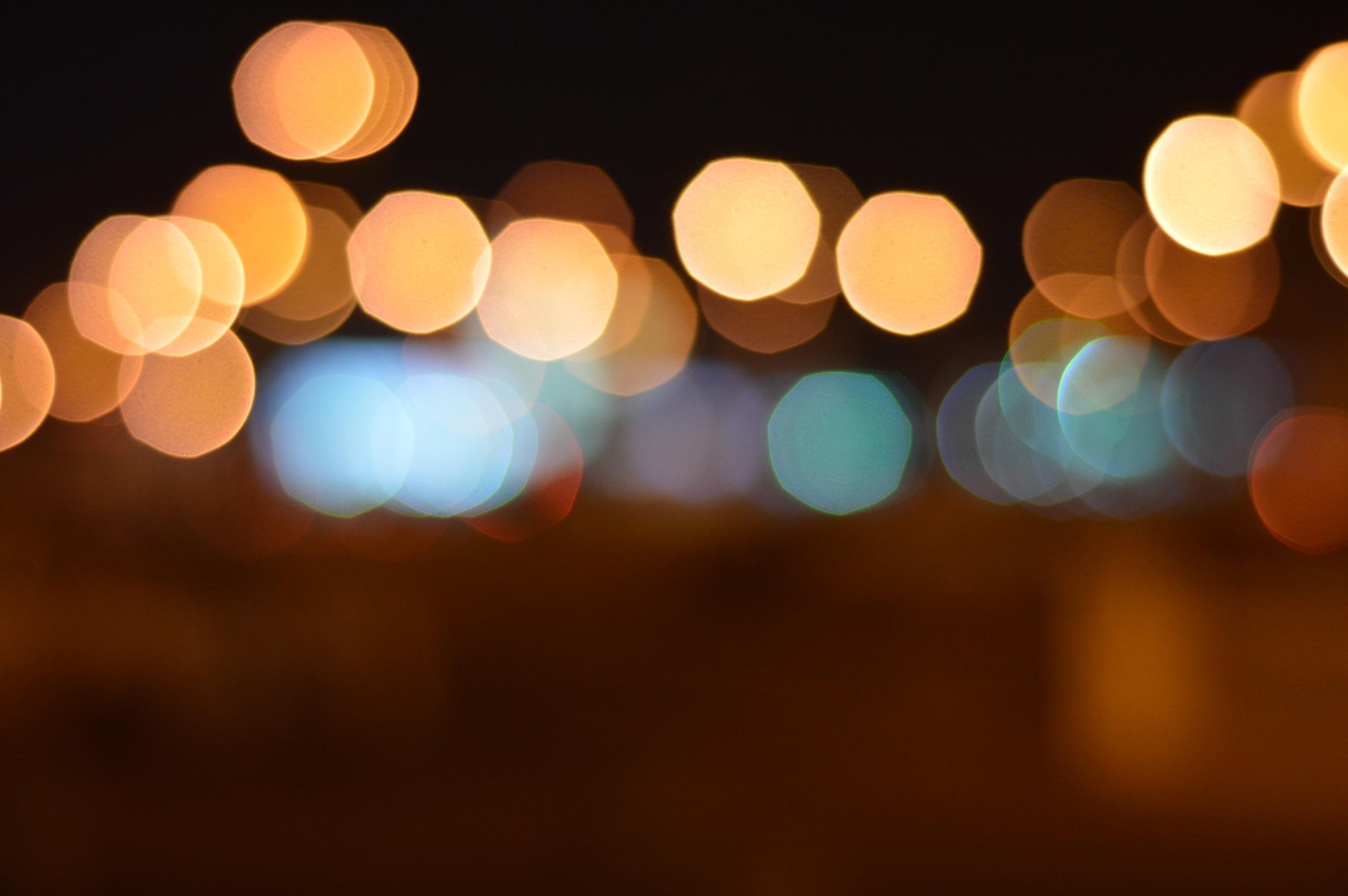 Night Lights Fondo De Pantalla Hd Fondo De Escritorio