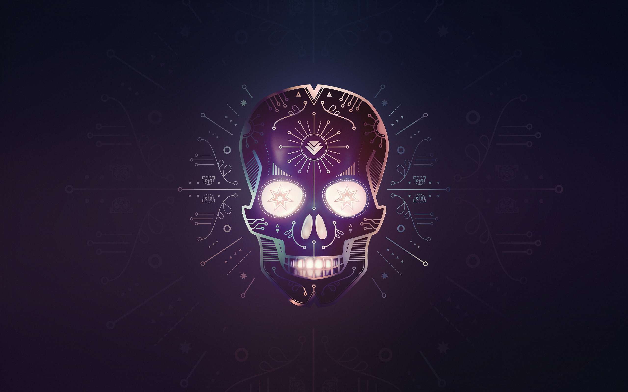 Hardwell & KURA - Calavera Full HD Wallpaper and ...