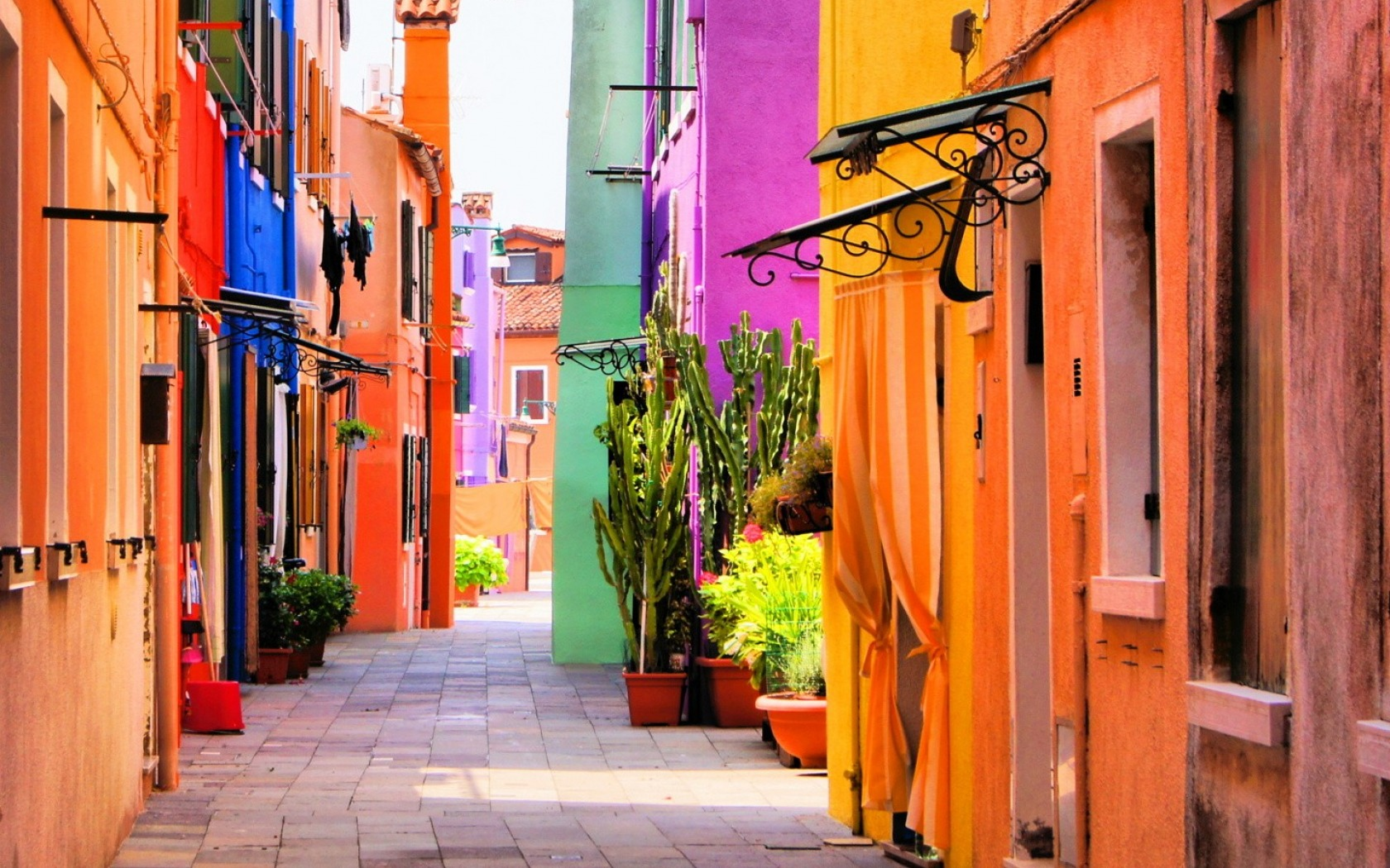 Colorful Side Street in South America Wallpaper and Background Image ... for Beautiful City Street Wallpaper  61obs