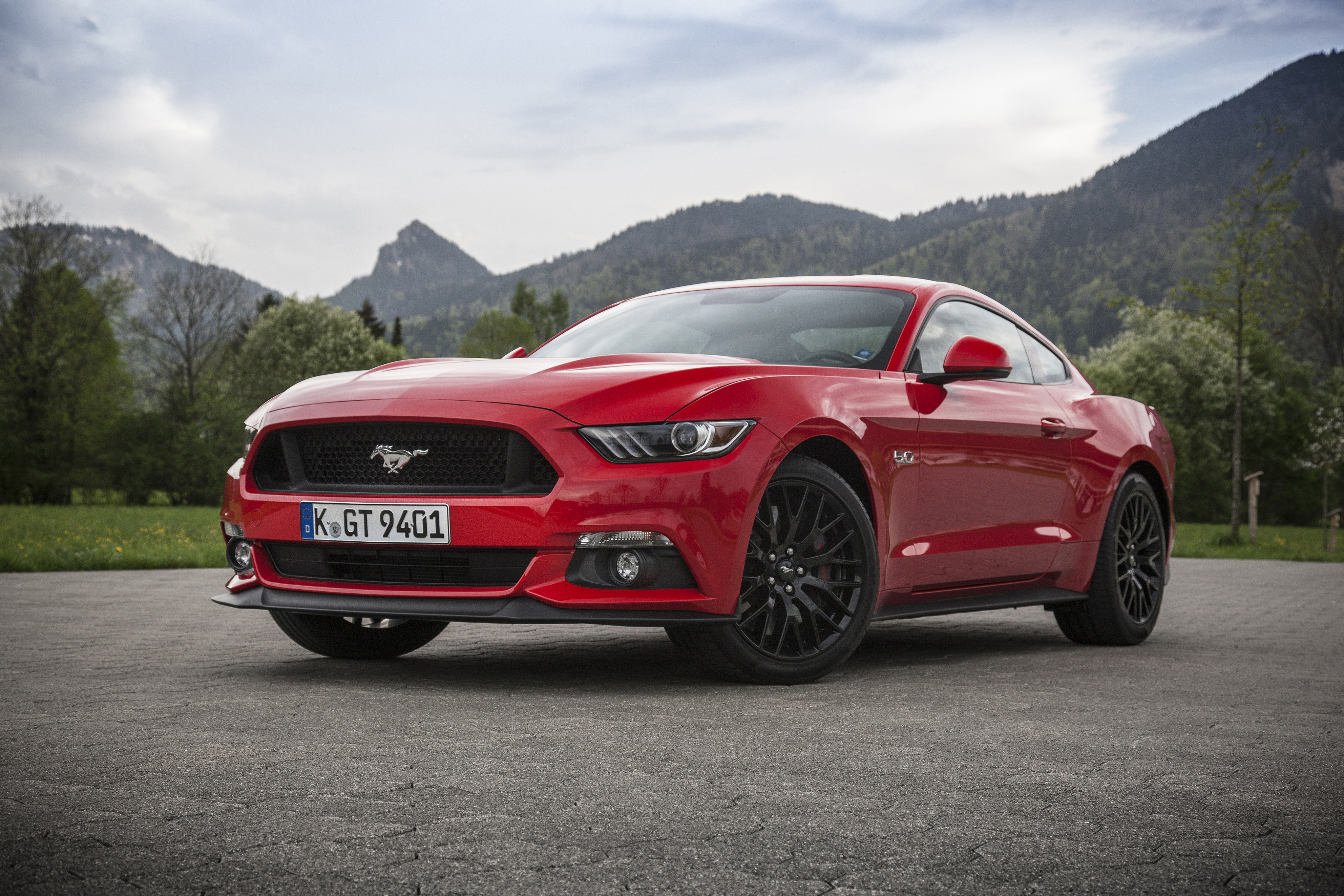 Ford Mustang Gt 4k Ultra Fondo De Pantalla Hd Fondo De
