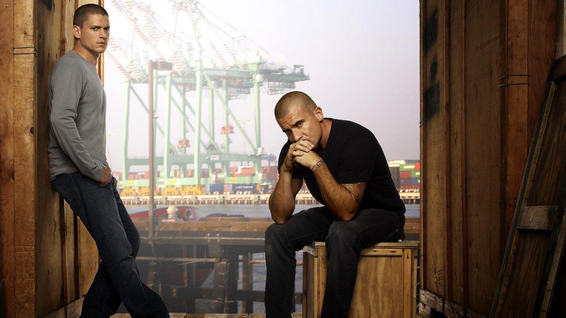 TV Show - Prison Break  Dominic Purcell Lincoln Burrows Wentworth Miller Michael Scofield Wallpaper