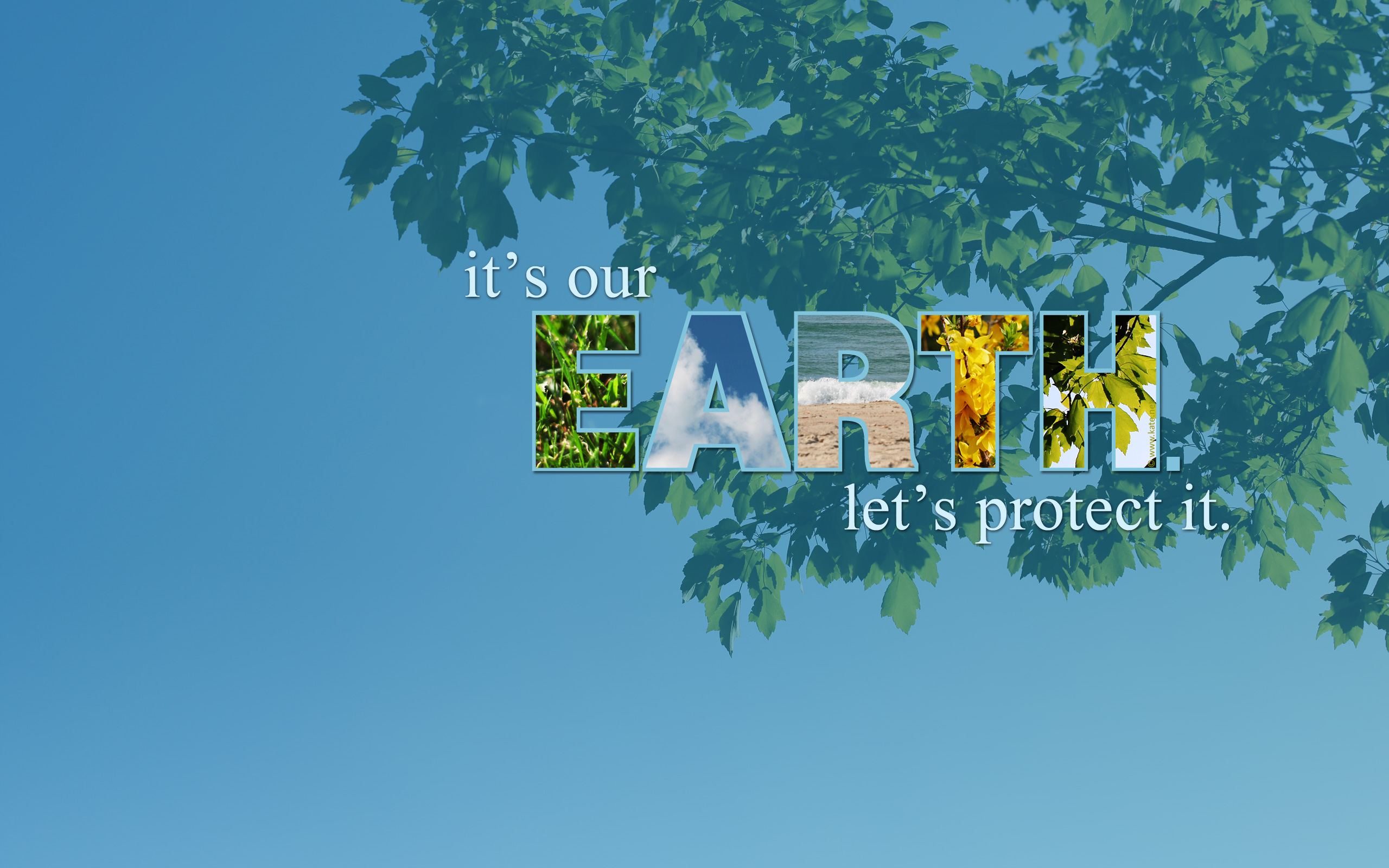 Earth Day Hd Wallpaper Background Image 2560x1600 Id 691135
