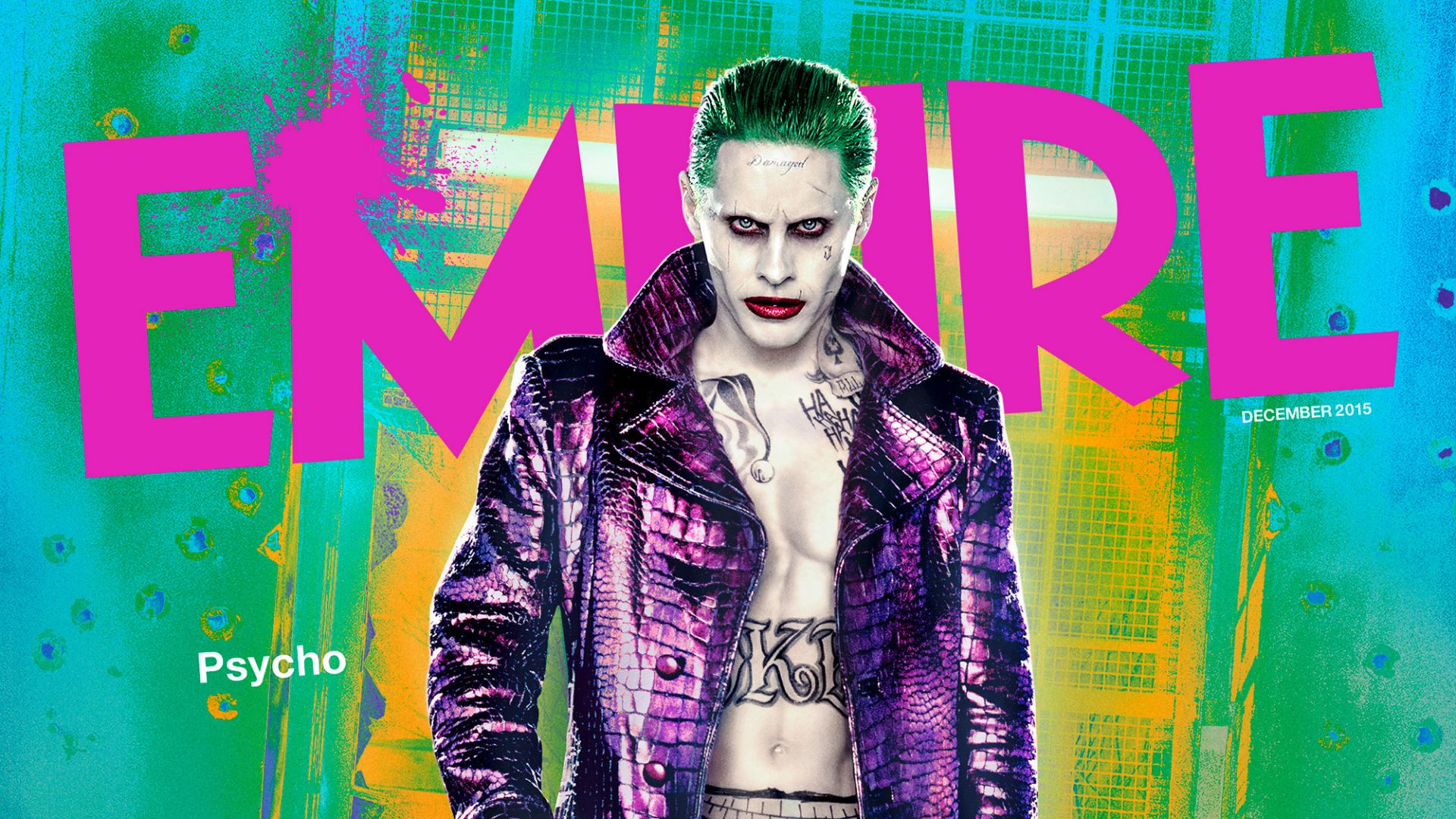 Jared Leto As The Joker In Suicide Squad Hd Wallpaper Background