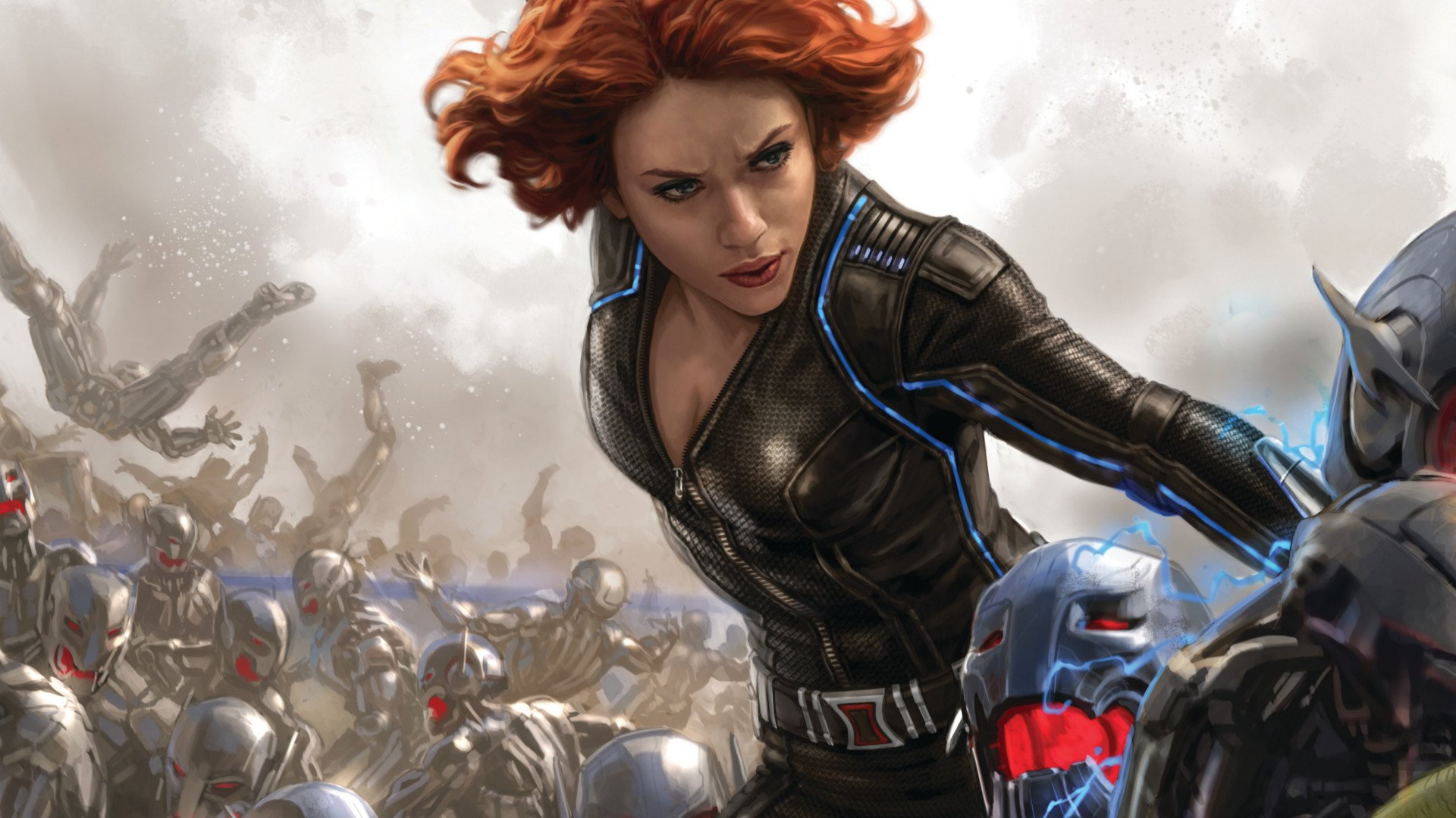 Movie - Avengers: Age of Ultron  Black Widow Natasha Romanoff Wallpaper
