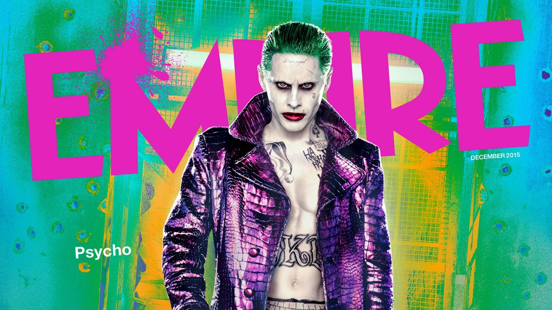 Movie - Suicide Squad  Movie Joker Jared Leto Wallpaper