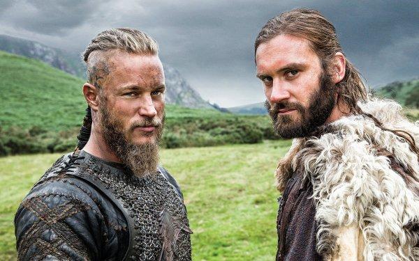 TV Show Vikings Travis Fimmel Ragnar Lothbrok Clive Standen Rollo HD Wallpaper | Background Image