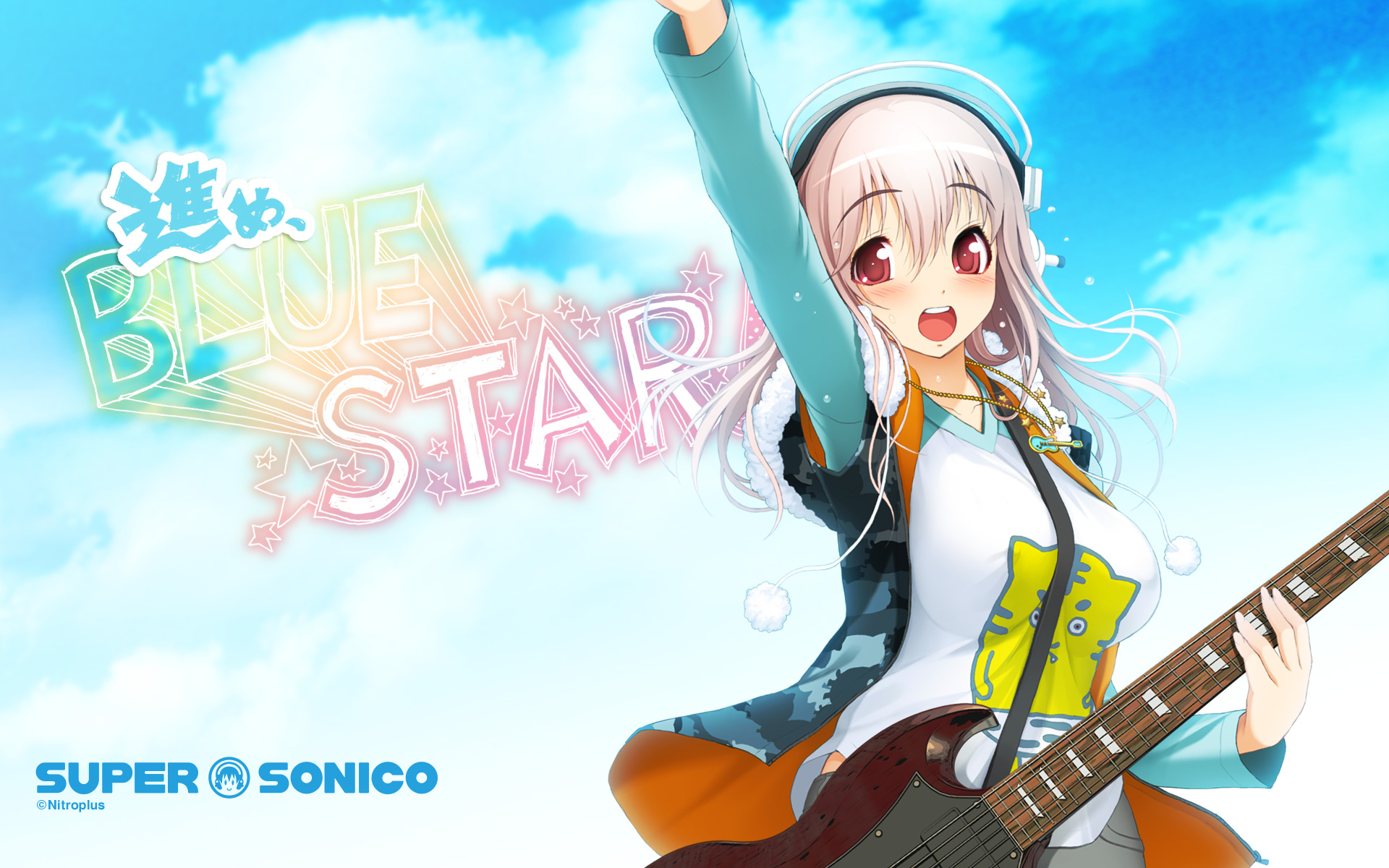 Super Sonico HD Wallpaper