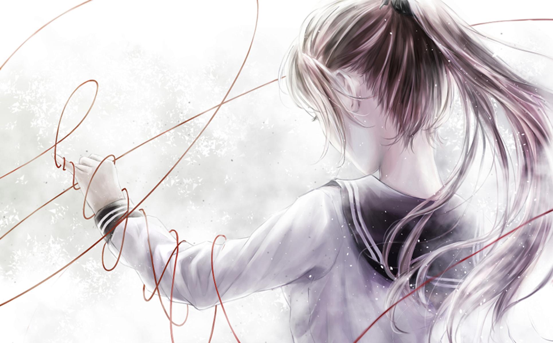 Anime Girl Full HD Wallpaper And Background
