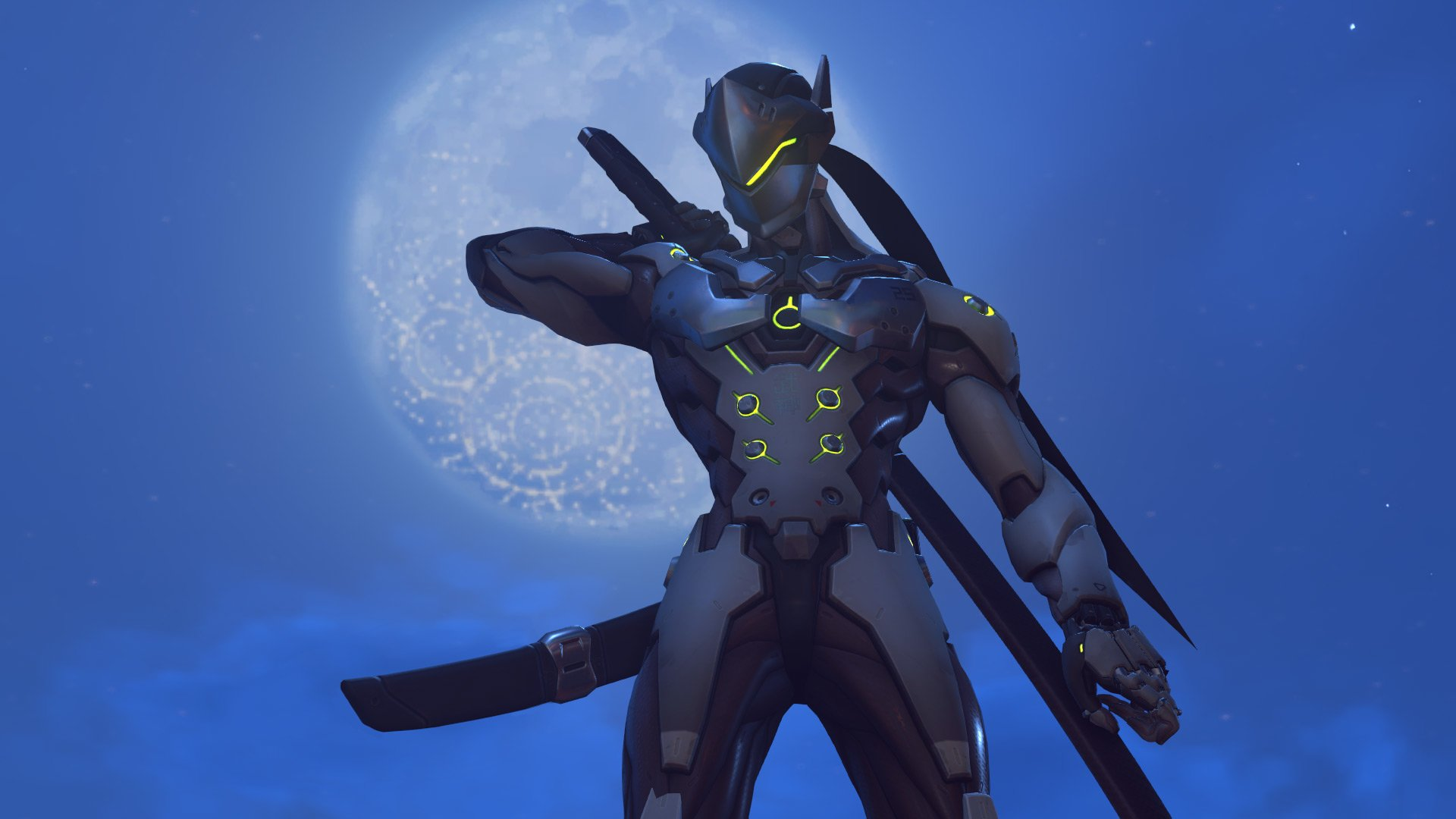 141 Genji Overwatch Hd Wallpapers Background Images Wallpaper