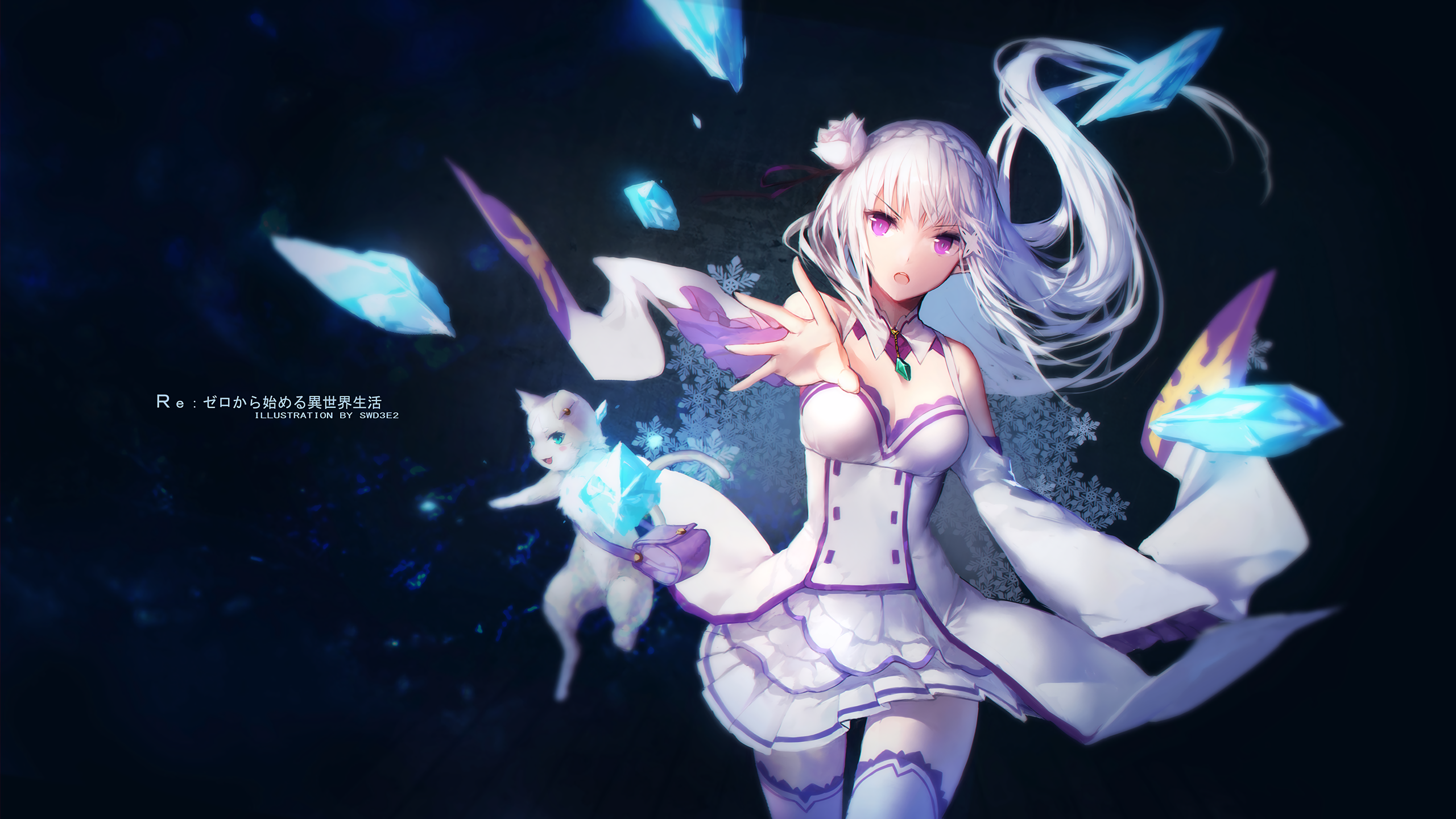 what is the other on my iphone re zero starting in another world hd wallpaper 20560