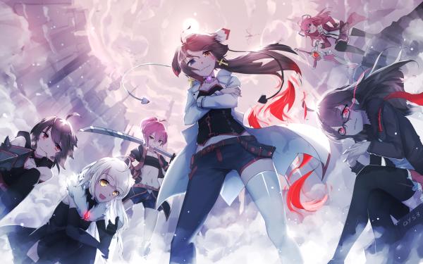 Anime Pixiv Fantasia T Girl HD Wallpaper | Background Image