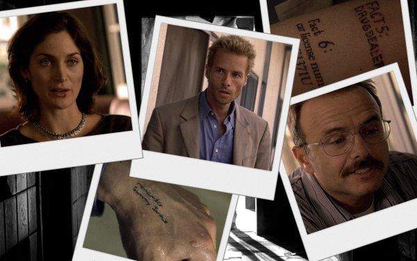 Movie Memento Guy Pearce Carrie-Anne Moss Joe Pantoliano HD Wallpaper | Background Image