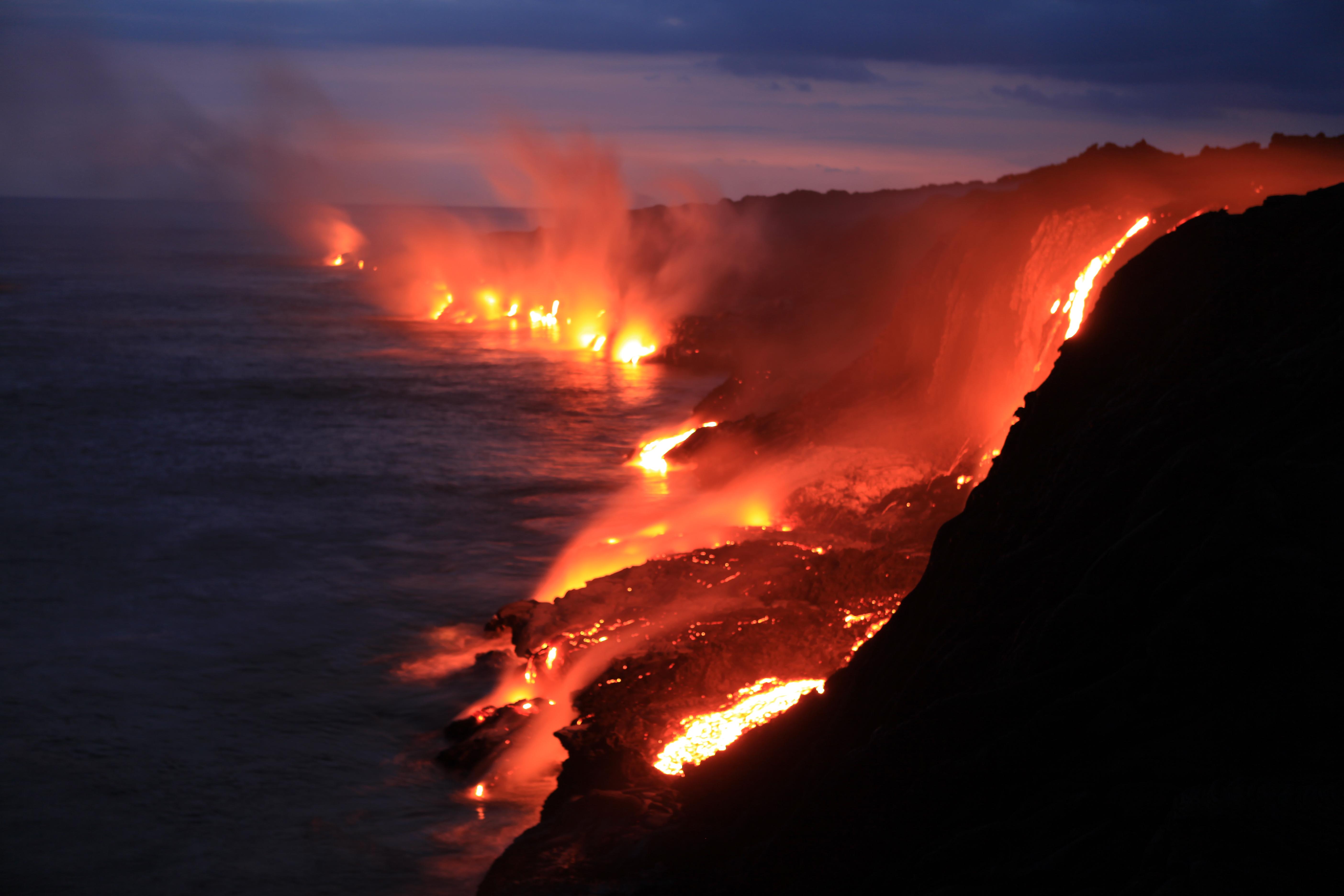 Fondos De Pantalla De Lava: Volcán 5k Retina Ultra Fondo De Pantalla HD