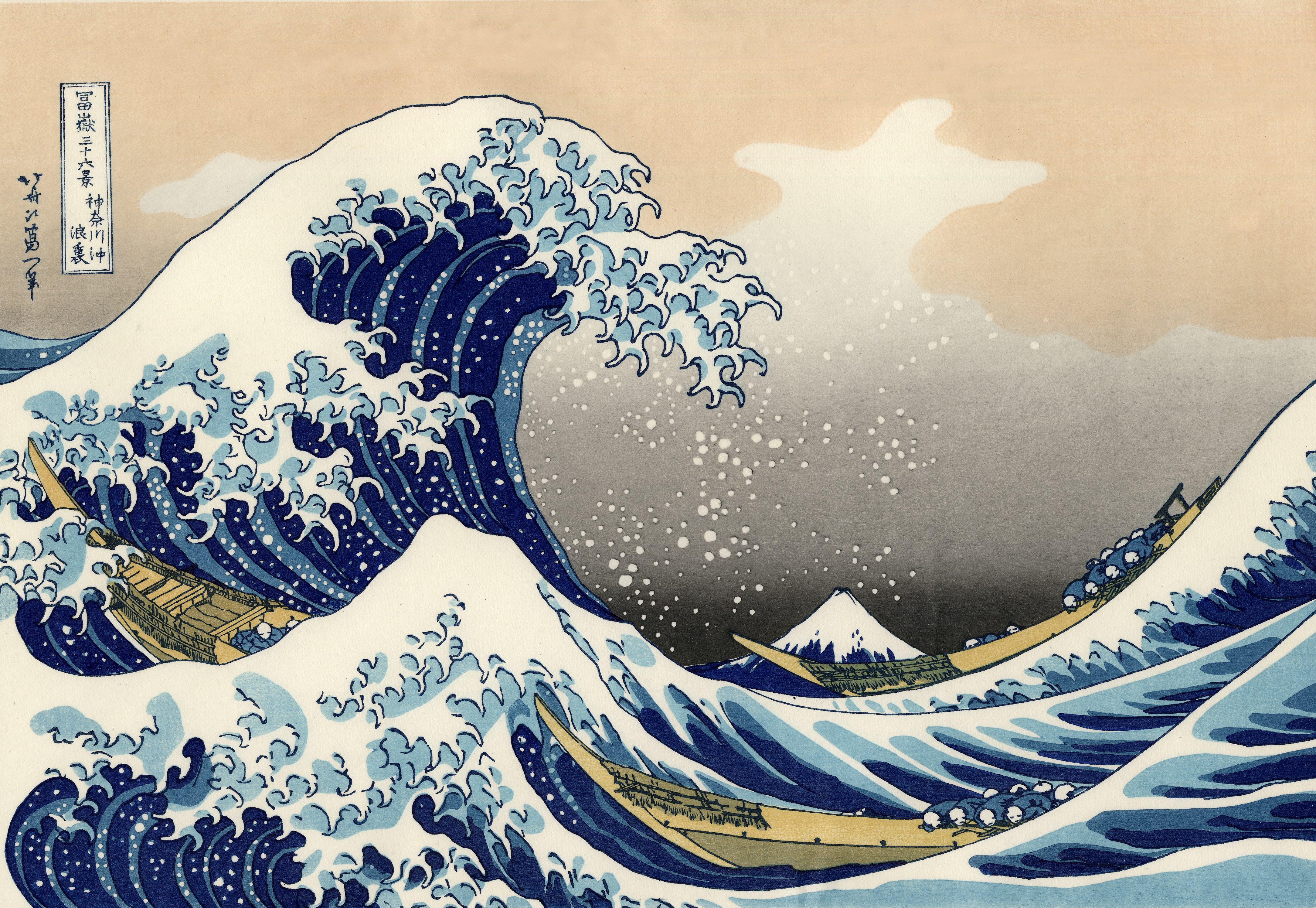 5 The Great Wave Off Kanagawa Hd Wallpapers Background Images