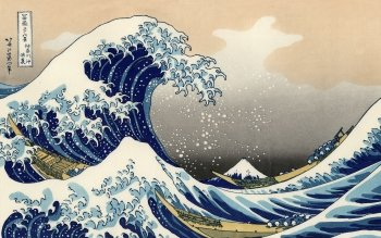 Artistisk - The Great Wave Off Kanagawa Wallpapers and Backgrounds ID : 69561