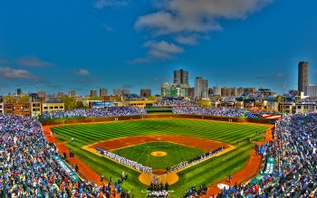 Download Free Baseball Stadium Wallpaper | PixelsTalk.Net