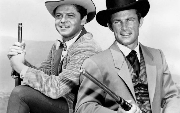 TV Show The Wild Wild West (1965) Cast Ross Martin Artemus Gordon Robert Conrad James West Western Black & White HD Wallpaper | Background Image
