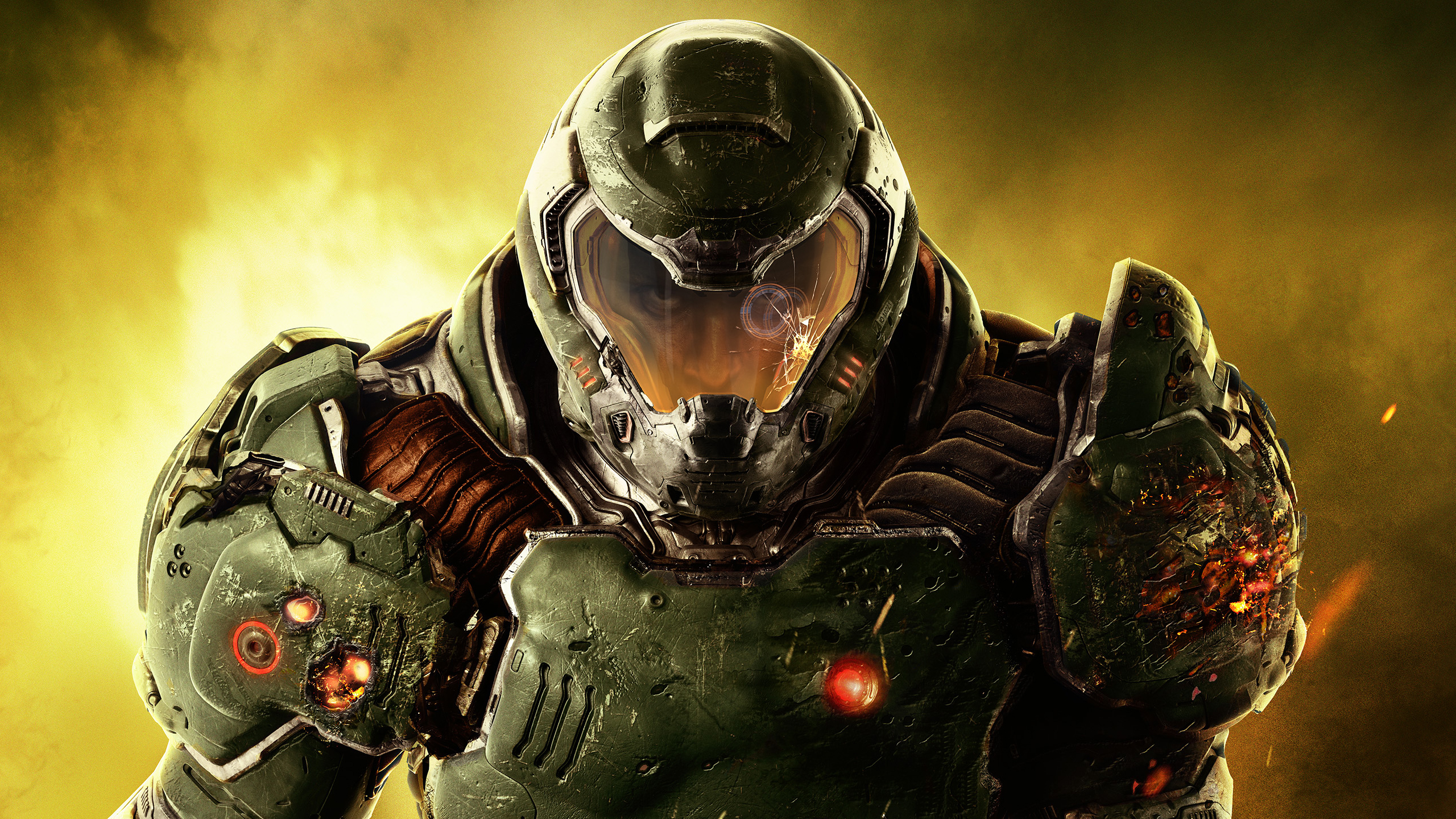 Doom 2016 Full Hd Wallpaper And Background 2560x1440
