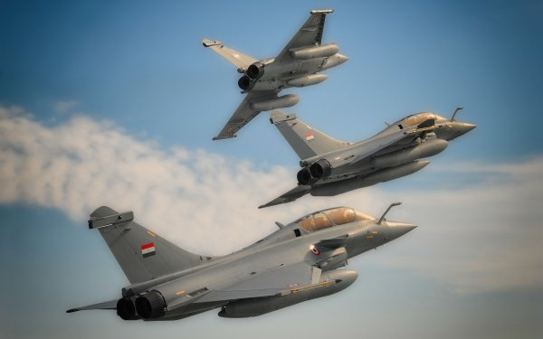 Military Dassault Rafale Jet Fighters Jet Fighter Aircraft Warplane HD Wallpaper | Background Image