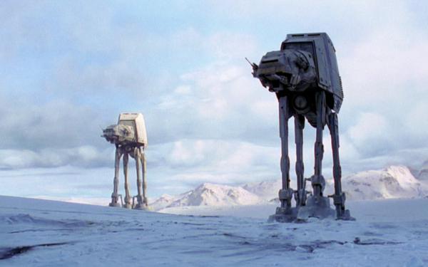 Movie Star Wars Episode V: The Empire Strikes Back Star Wars AT-AT Walker HD Wallpaper | Background Image