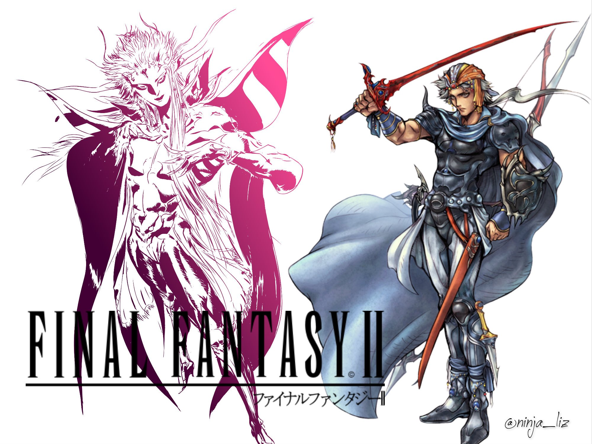 Final Fantasy II HD Wallpaper Background Image