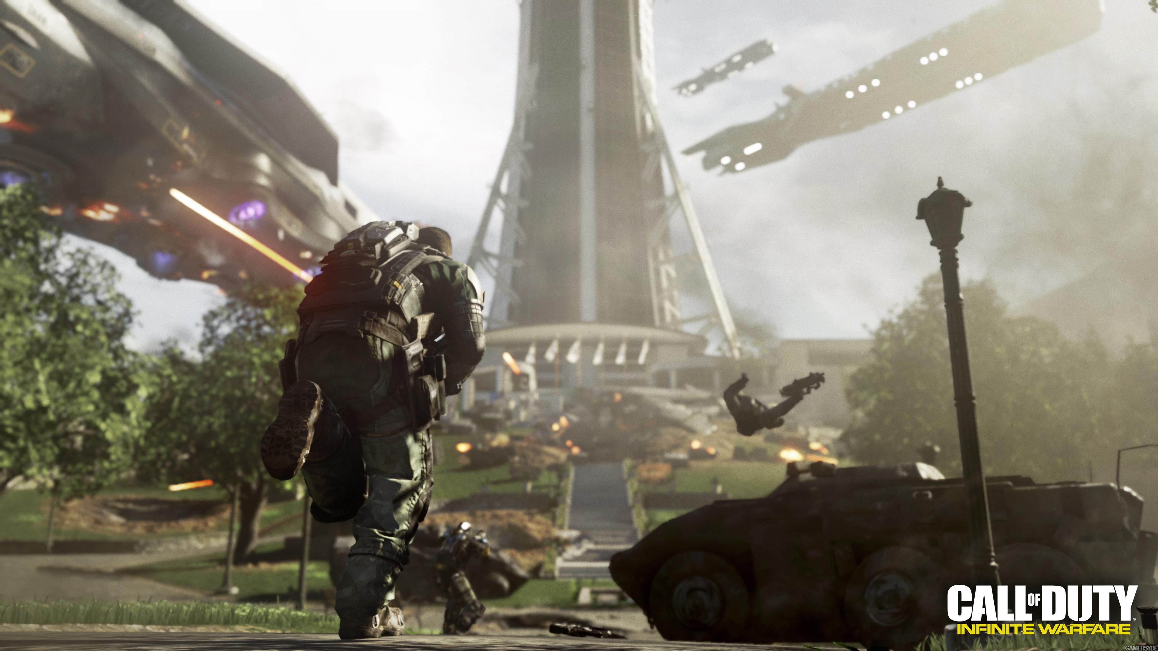 Call Of Duty Infinite Warfare 4k Ultra Fondo De Pantalla Hd