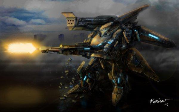 Sci Fi Mech Robot HD Wallpaper | Background Image