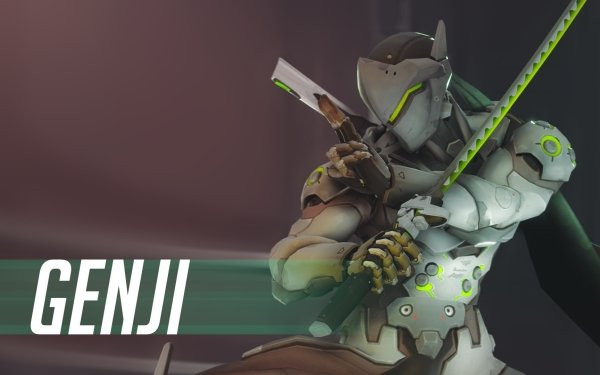 Videojuego Overwatch Blizzard Entertainment Genji Genji Shimada Fondo de pantalla HD | Fondo de Escritorio