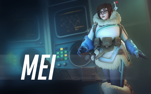 Video Game Overwatch Blizzard Entertainment Mei Mei-Ling Zhou HD Wallpaper | Background Image