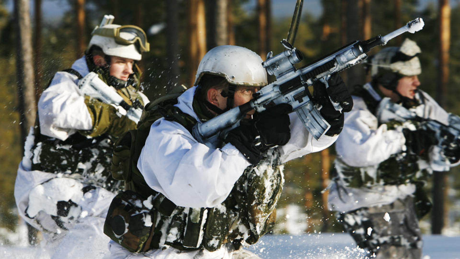 Военные  - Norwegian Army Обои