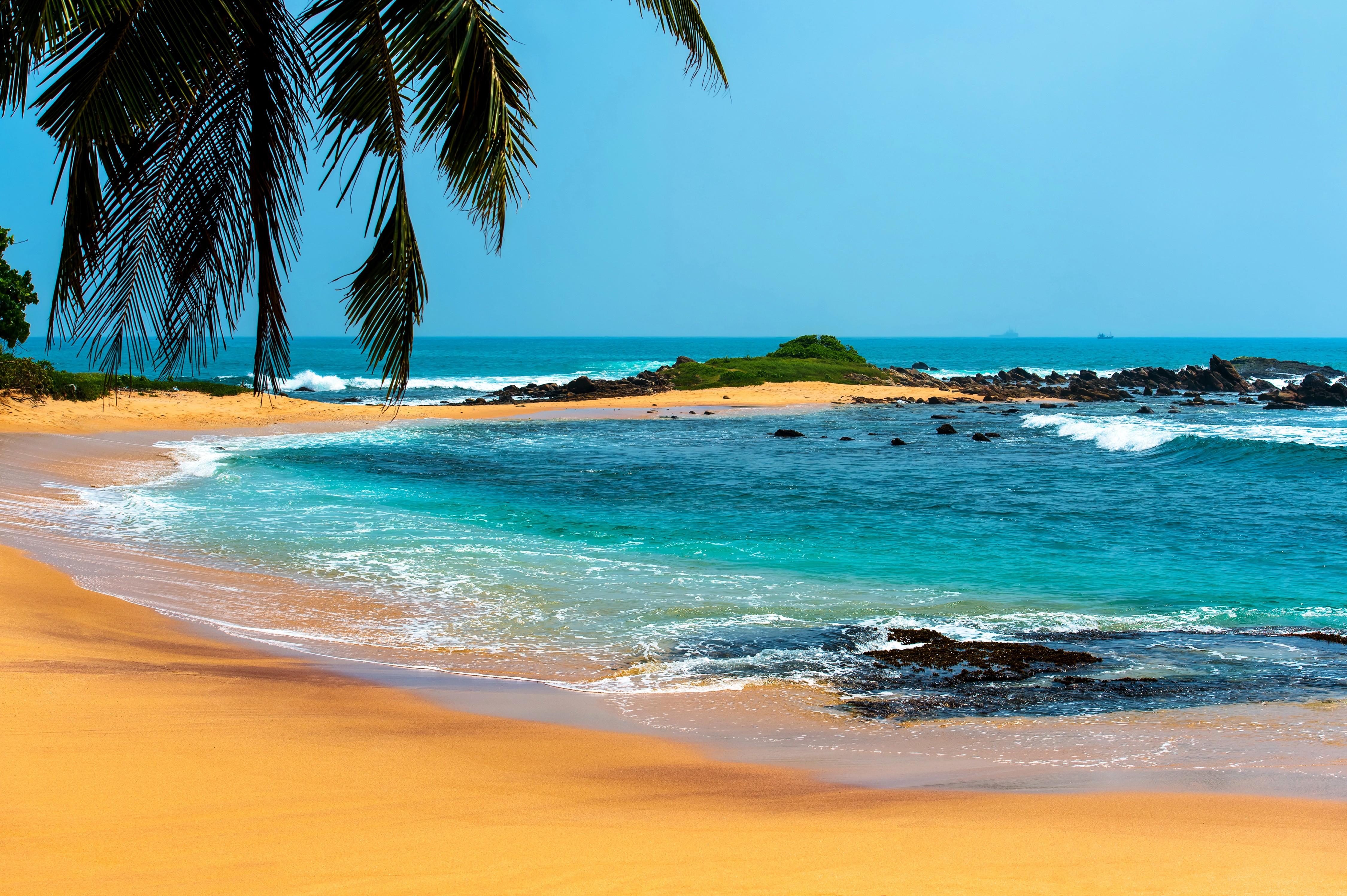 Beach 4k Ultra HD Wallpaper | Background Image | 4500x2995 ...