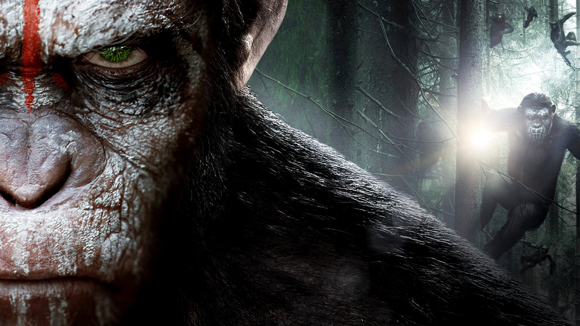 Dawn Of The Planet Of The Apes Hd Wallpaper Background Image