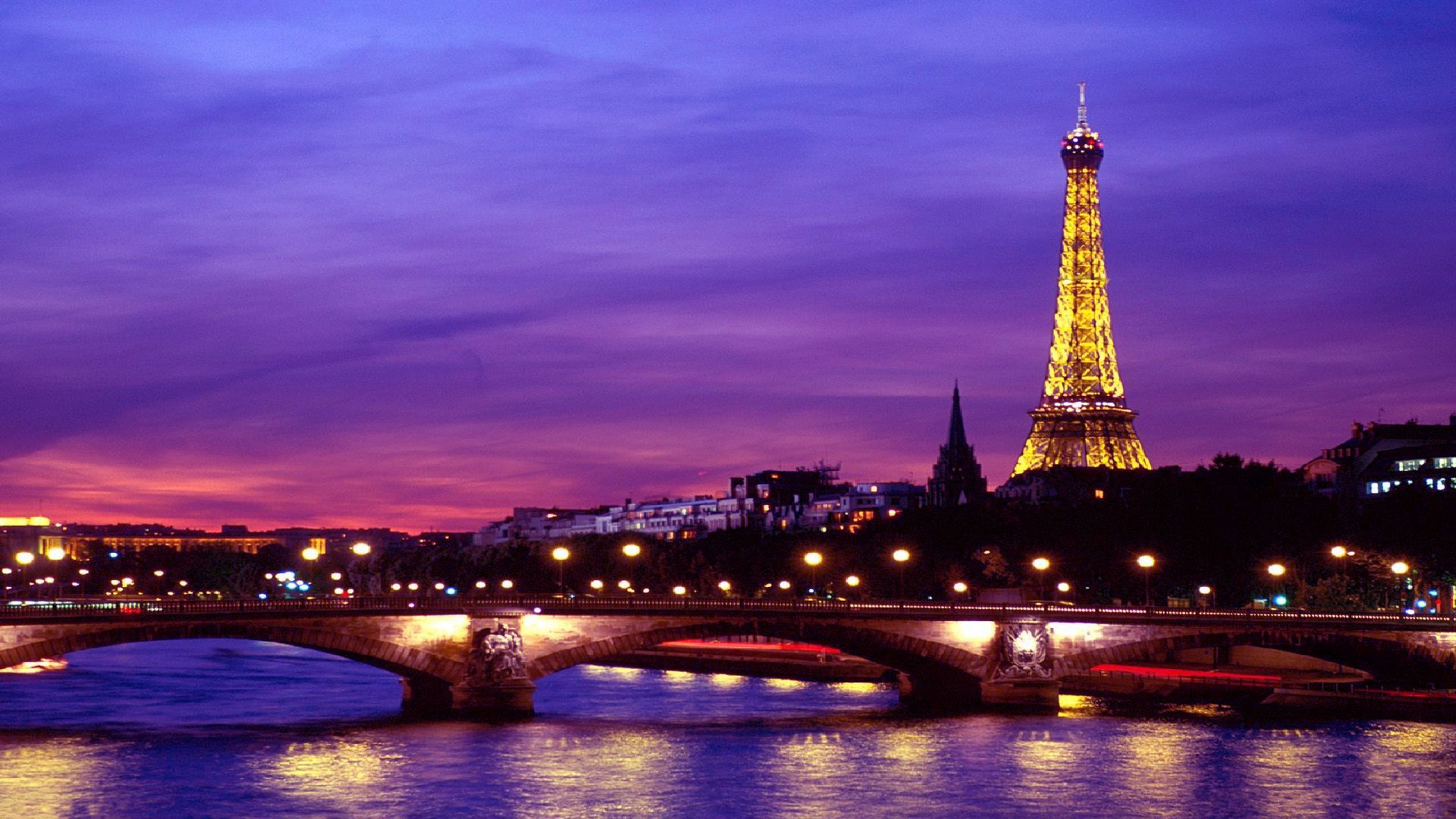 Eiffel tower at night hd wallpaper background image - Paris eiffel tower desktop wallpaper ...