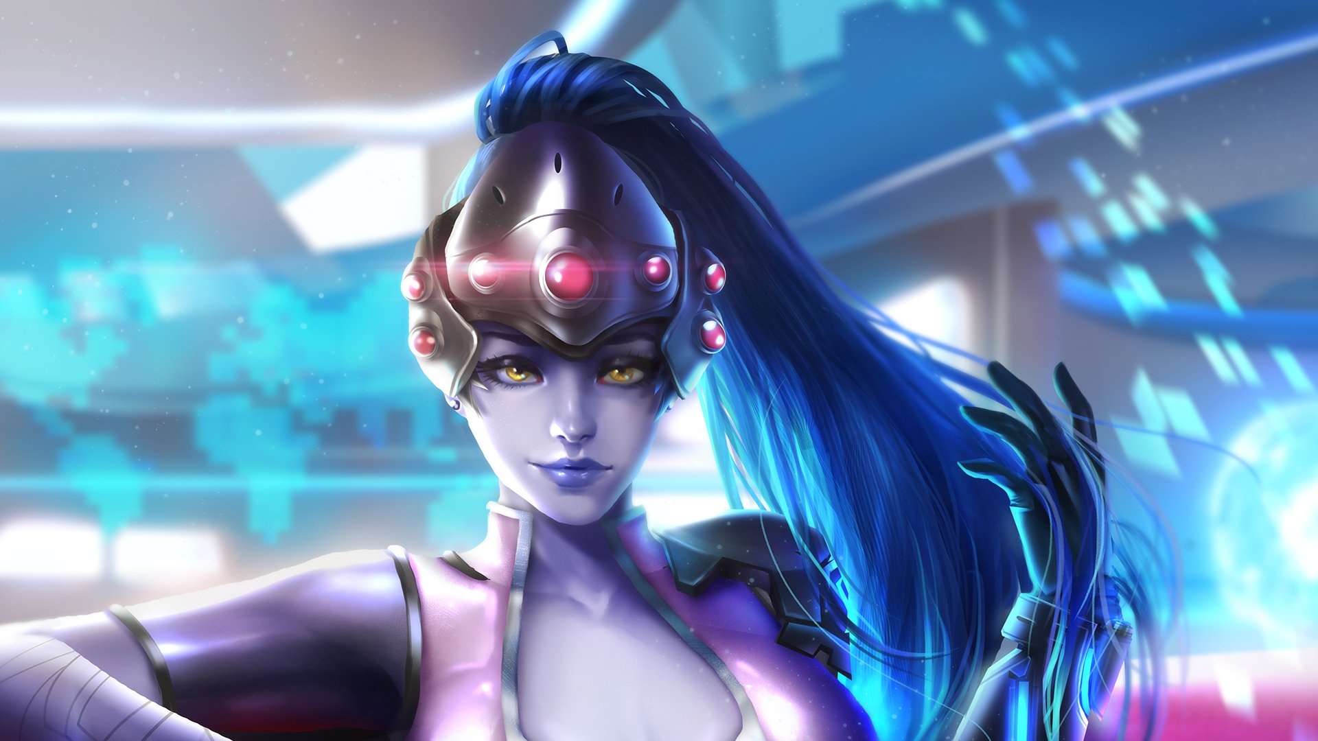 widowmaker overwatch wallpaper 1920x1080 - photo #22