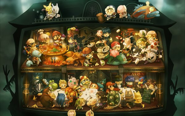 Video Game - super smash bros. Wallpapers and Backgrounds