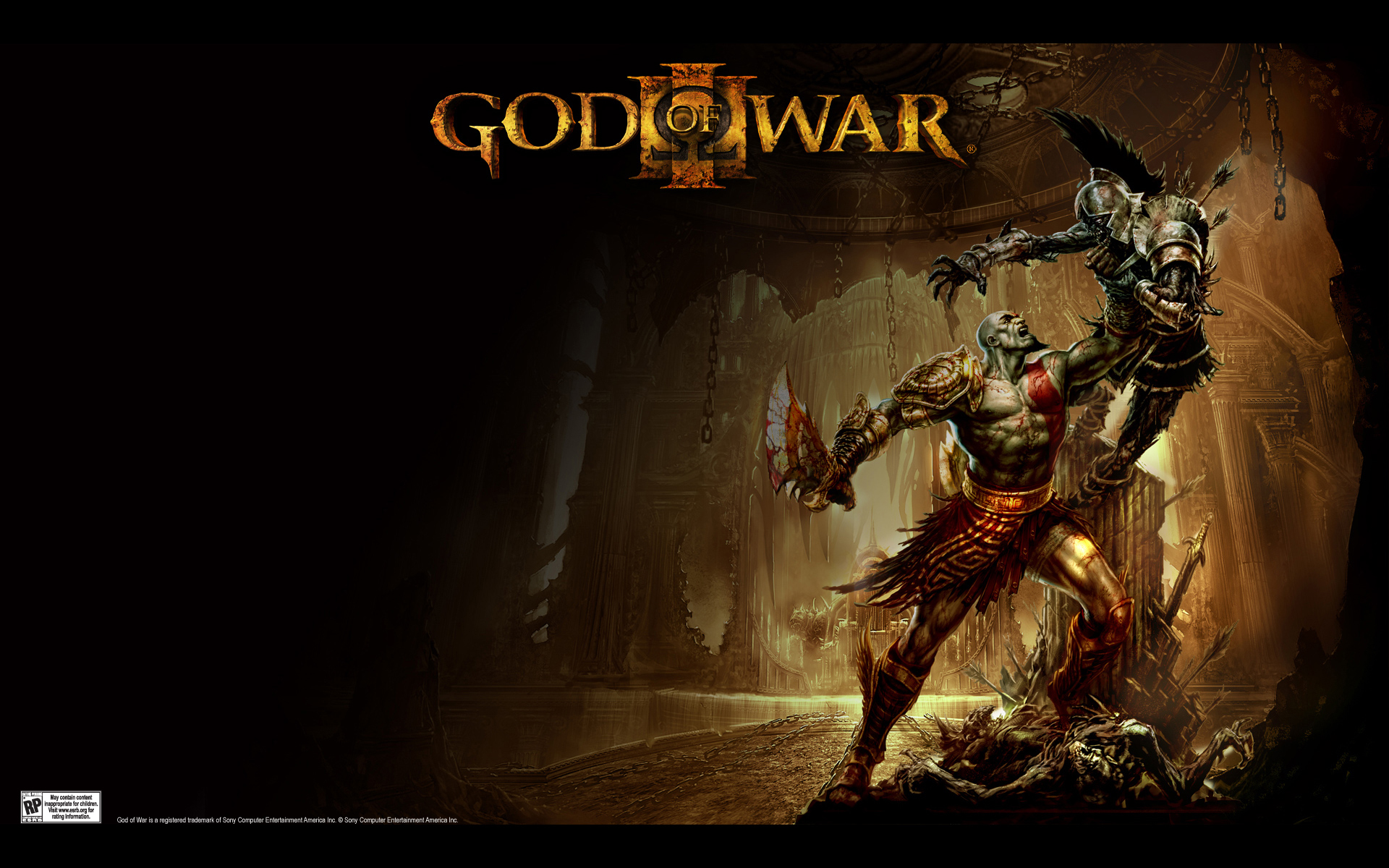 God Of War III Full HD Wallpaper And Background Image