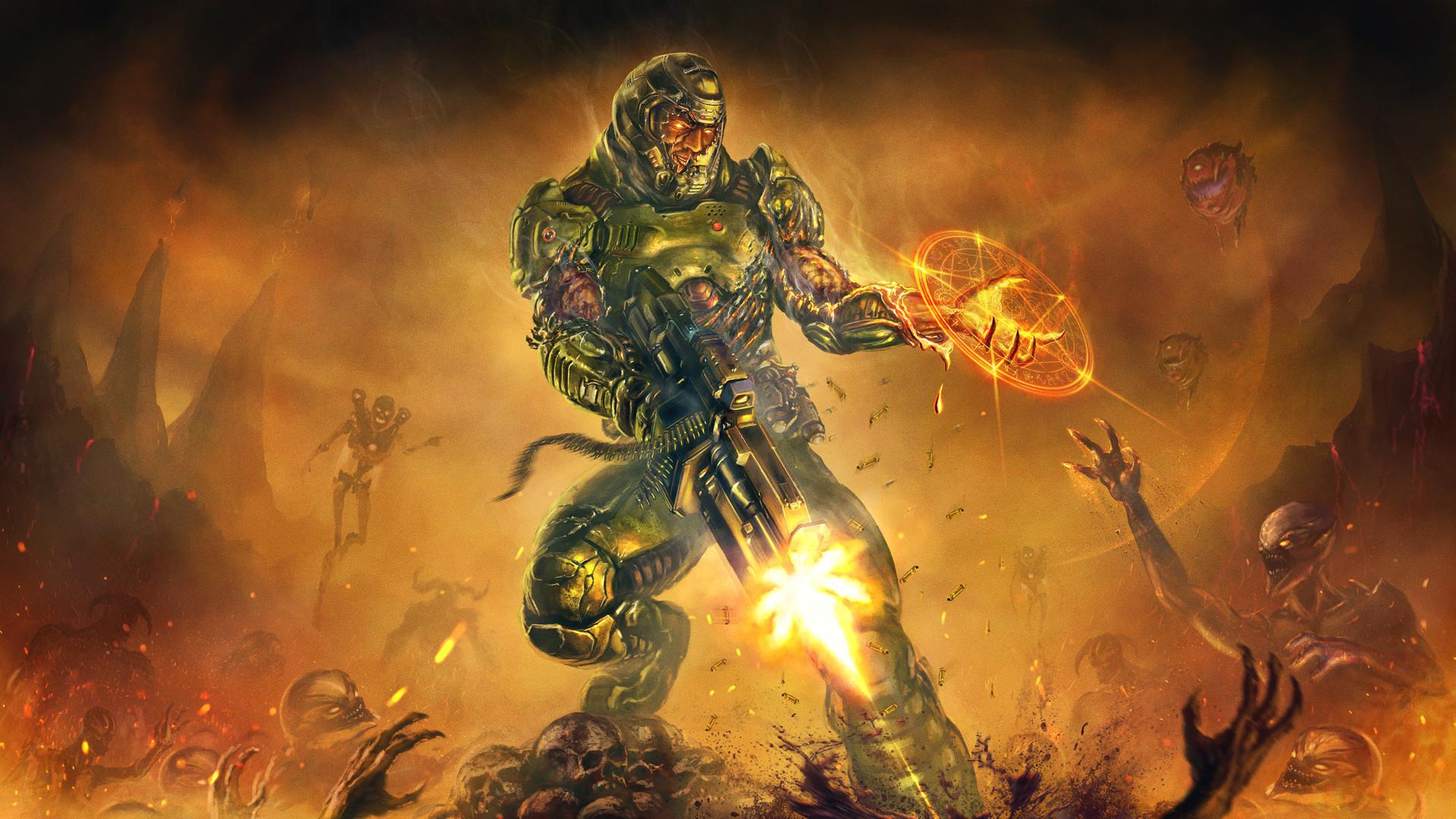 doom (2016) hd wallpaper | background image | 1920x1080 | id:701274