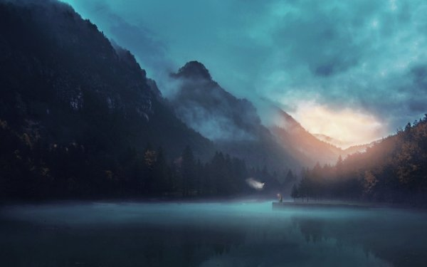Artistic Desktopography Fog HD Wallpaper   Background Image