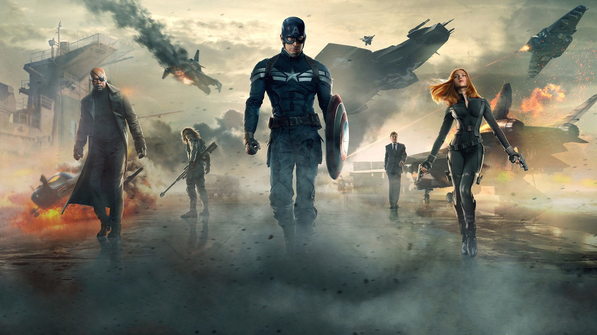 captain america: the winter soldier full hd wallpaper and background