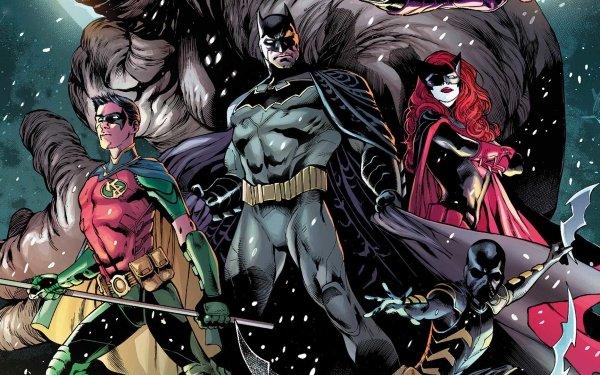 Comics Batman: Detective Comics Batman Robin Batwoman HD Wallpaper | Background Image