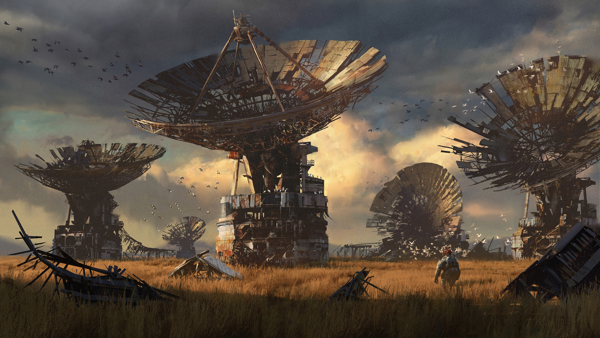 post apocalyptic hd wallpaper background image