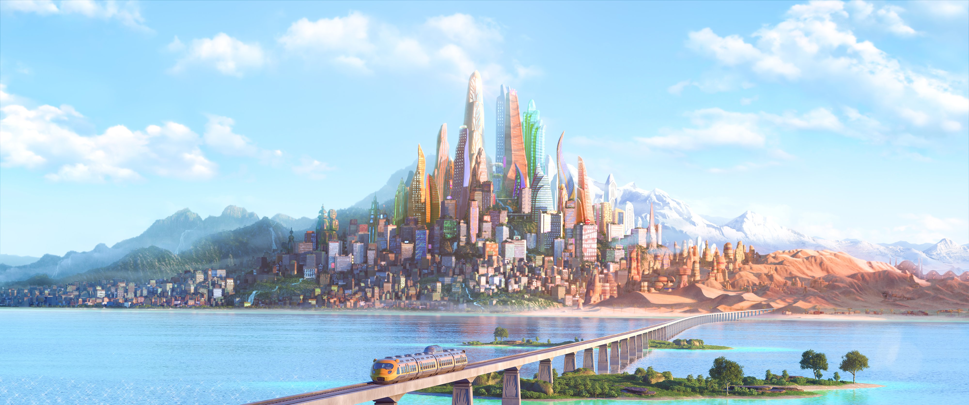 hd wallpaper background id703942 4000x1675 movie zootopia