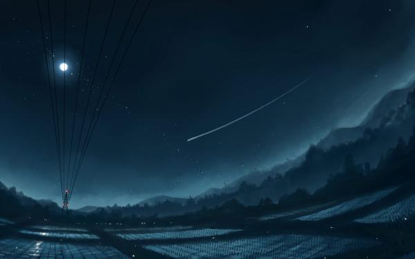 Anime Original Night HD Wallpaper   Background Image